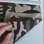 Camouflage uzorak 80/20 pamučni poliester keper tkanine za vojnu uniformu