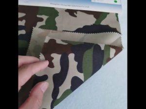 Camouflage šablon 8020 pamučne tkanine od poliestera za vojnu uniformu