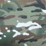teflon 100% poliester tkane vodootporna vojna maskirna tkanina od kišnih jakni