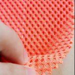 Poliester tricot warp pletena mrežasta vojna džepna džepna tkanina