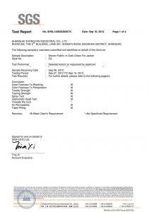 Tkani tkanina u tamnozelen za sako SGS certifikate