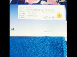 tvornica china 100% poliester fleece anti statična zimska jakna tkanina